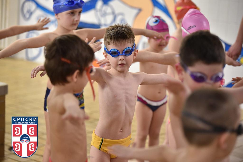 Obuka neplivača plivanje za decu