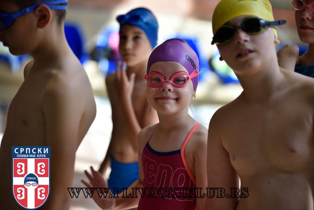 kada početi sa plivanjem