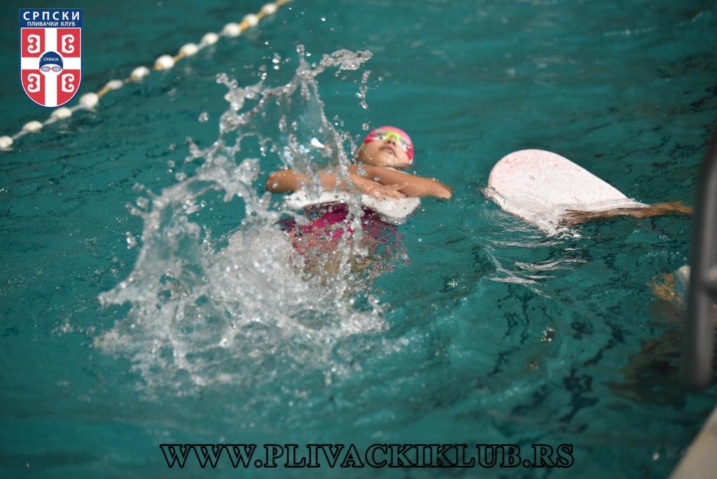 zaveslaj kod leđnog plivanja