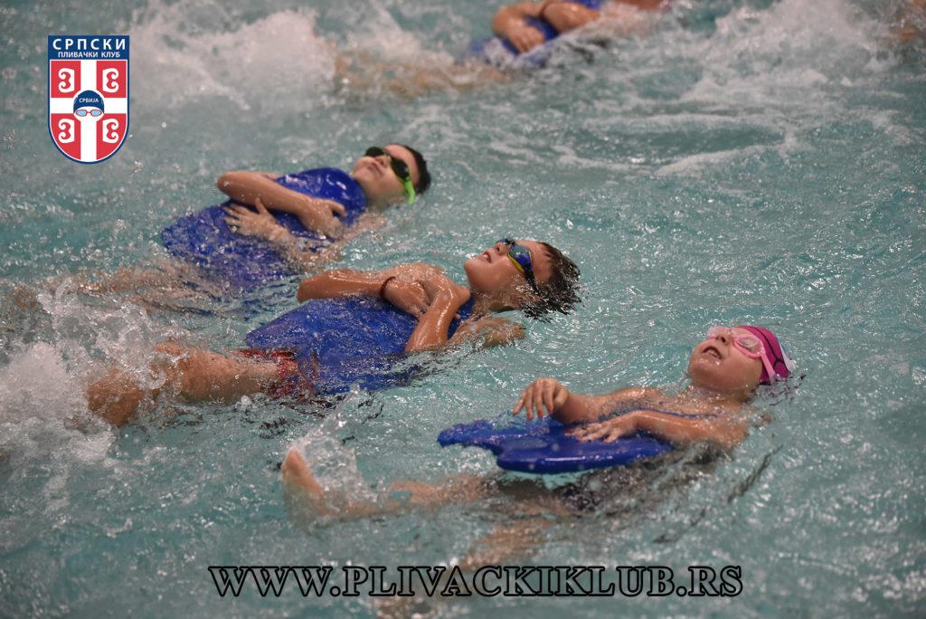 škola plivanja
