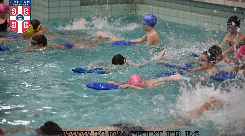 škola plivanja - Tašmajdan Vračar