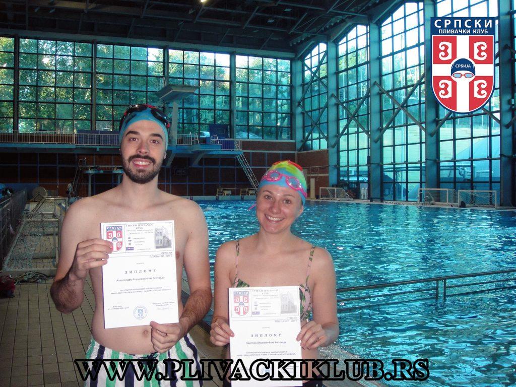 škola plivanja za odrasle