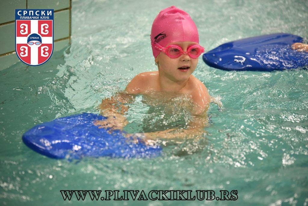 Grupni oblik rada u školi plivanja
