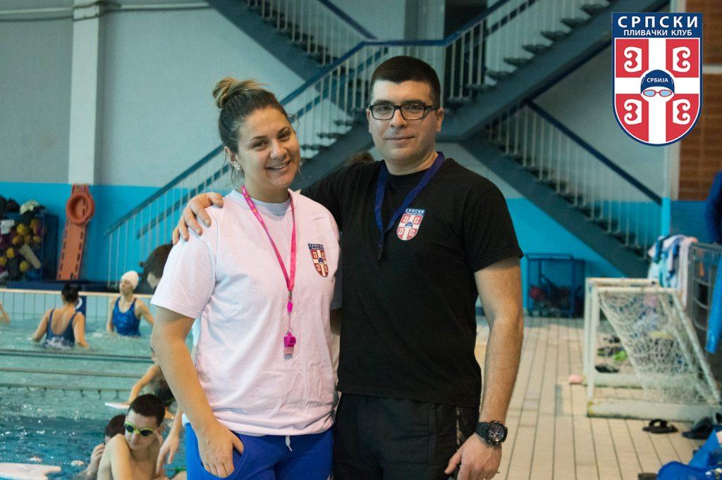 Veselin Petrović - trener plivanja