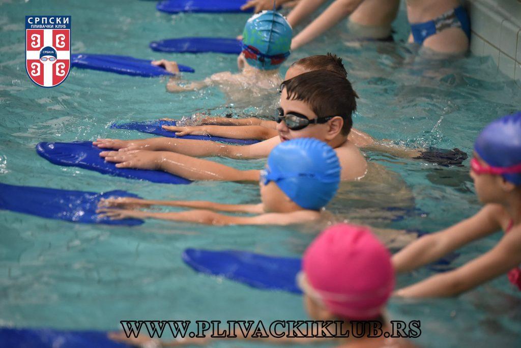 Škola plivanja za decu Tašmajdan