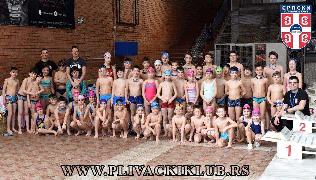 Srpski plivački klub - Nacionalna škola plivanja, Vračar