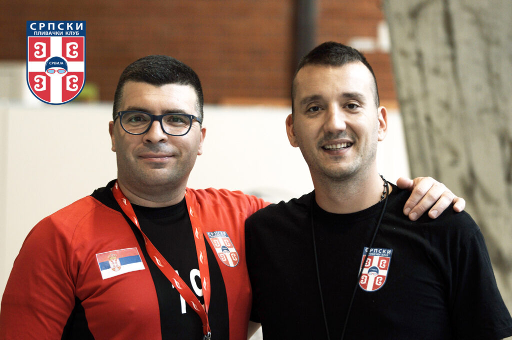 Treneri Veselin Petrović i Voja Fabijan