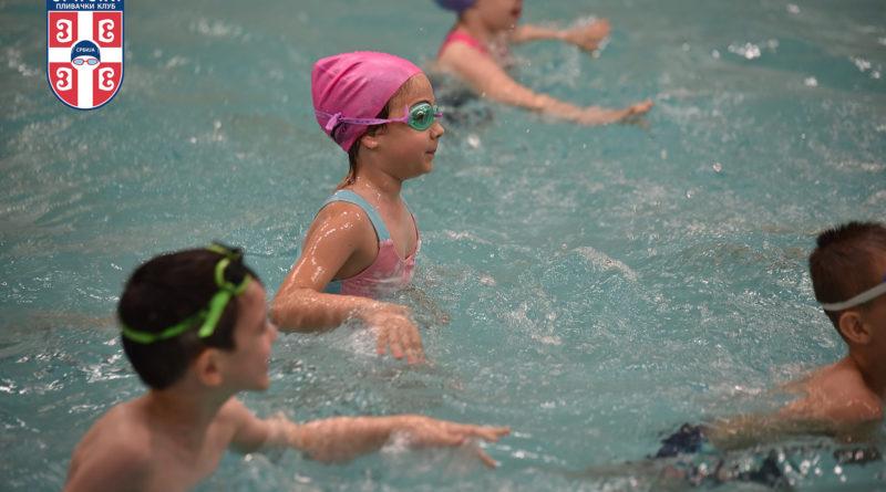 Obuka plivanja